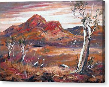 Pilbara, Outback, Western Australia, Canvas Print
