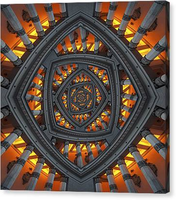 Pillars Canvas Print