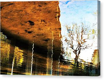 Pillars Within Society Canvas Print