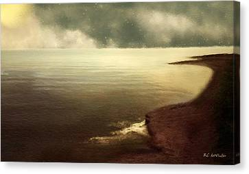 Pillowed Sky Canvas Print by RC deWinter
