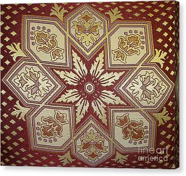 Pillows Of Agadir - Moroccan Red Canvas Print by Maria Bonnier-Perez