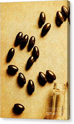 Pills And Spills Canvas Print by Jorgo Photography - Wall Art Gallery