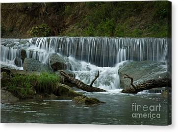 Pillsbury Crossing Canvas Print by Fred Lassmann