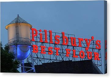 Pillsbury Canvas Print - Pillsbury's Best Flour by Art Spectrum