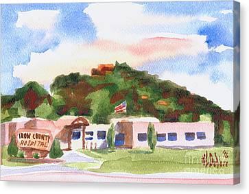 Pilot Knob Mountain W401  Canvas Print by Kip DeVore