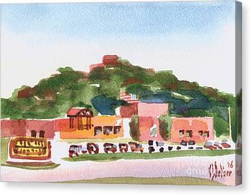 Pilot Knob Mountain W402 Canvas Print by Kip DeVore