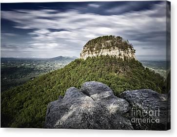 Pilot Mountain 1c Canvas Print