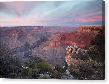 Mike Canvas Print - Pima Point Sunset by Mike Buchheit
