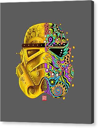 Pimp My Stormtrooper Canvas Print by Chuppy Lim