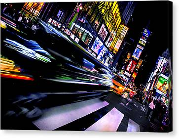 New York City Skyline Canvas Print - Pimp'n It by Az Jackson