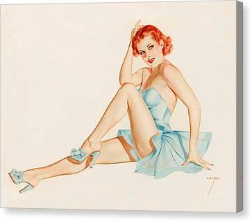 Canvas Print - Pin-up Ballerina Pose by Long Shot