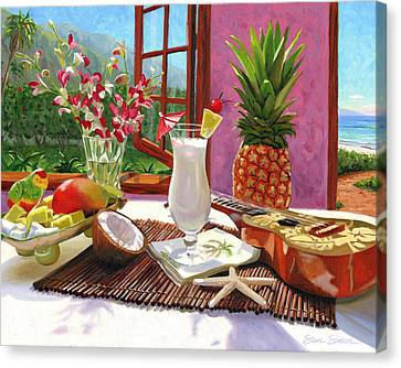 Pina Colada Canvas Print by Steve Simon