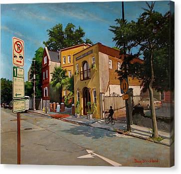 Pinckney Inn - Charleston Sc Canvas Print by Doug Strickland