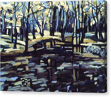 Pine Barrens Canvas Print by Doris  Lane Grey