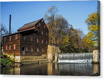 Pine Creek Grist Mill 2 Canvas Print by Paul Freidlund