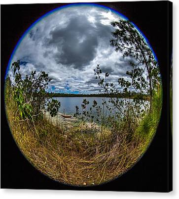 Pine Glades Lake 18 Canvas Print by Michael Fryd