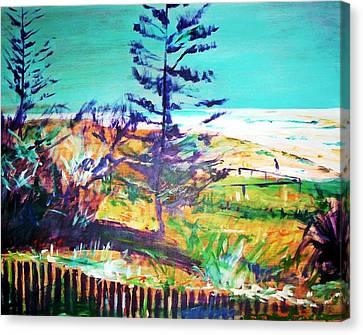 Pine Tree Pandanus Canvas Print