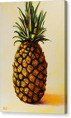Pineapple Angel Canvas Print
