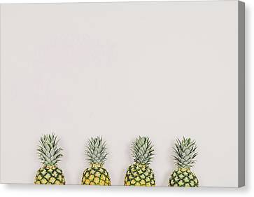 Pineapple Canvas Print - Pineapples by Happy Home Artistry