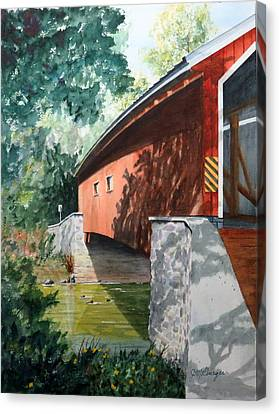 Pinetown Bridge Canvas Print