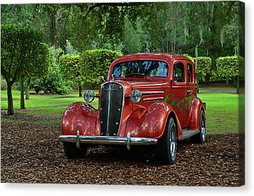 Pinewood Classic Canvas Print