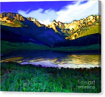 Piney Mountain Canvas Print