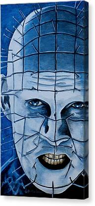 Pinhead Up Close And Personal  Canvas Print by Al  Molina