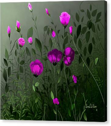 Pink And Wild Canvas Print