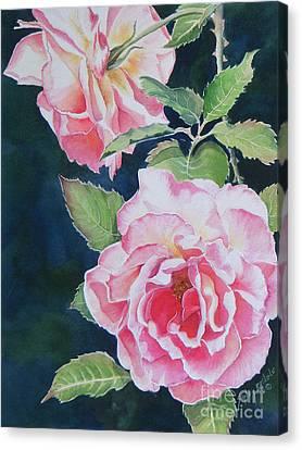Pink Beauties  Sold  Original Canvas Print