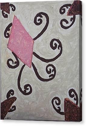 Pink Diamond Canvas Print