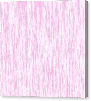 Pink Fiber Canvas Print