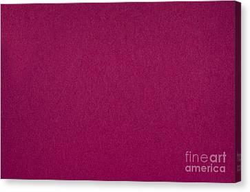 Pink Flat Cardboard Texture Canvas Print by Arletta Cwalina
