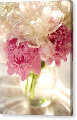 Pink Floal Canvas Print by George Robinson