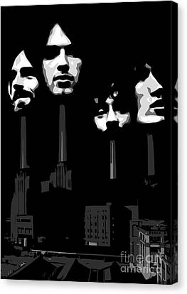 Pink Floyd No.02 Canvas Print by Caio Caldas