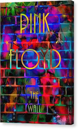 Pink Floyd The Wall Canvas Print by Dan Sproul