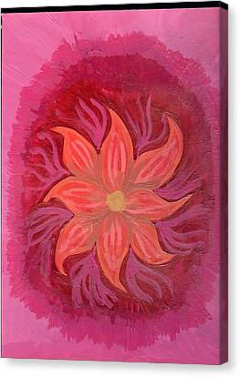 Pink Fusion Canvas Print by Laura Lillo