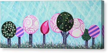 Canvas Print - Pink Grove by Graciela Bello