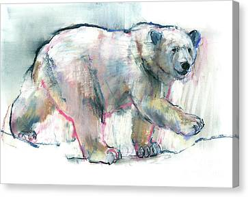 Pink Canvas Print by Mark Adlington