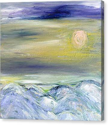 Canvas Print - Pink Moon by Amy Drago