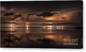 Amber Nights Canvas Print