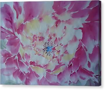 Pink Peony 002 Canvas Print