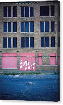 Canvas Print featuring the photograph Pink Promises by Trish Mistric