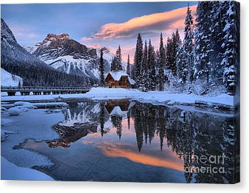 Canvas Print - Pink Skies Over Cilantro by Adam Jewell