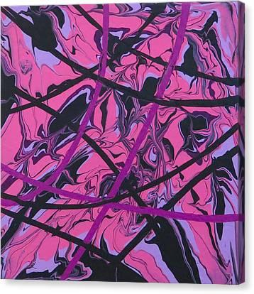Pink Swirl Canvas Print