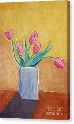 Appleton Canvas Print - Pink Tulips by Norma Appleton