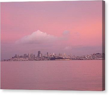 Canvas Print - Pink by Vari Buendia