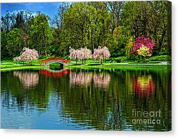 Pinks And Reds Canvas Print
