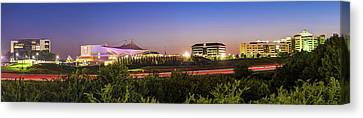 Concert Images Canvas Print - Pinnacle Hills Skyline Panorama - Bentonville - Rogers - Northwest Arkansas by Gregory Ballos