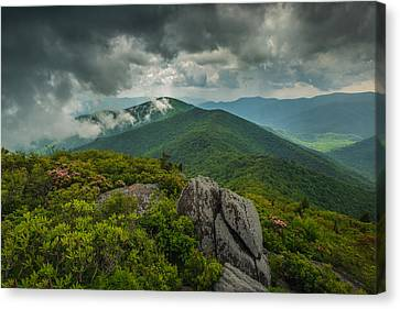 Canvas Print featuring the photograph Pinnacle by Joye Ardyn Durham