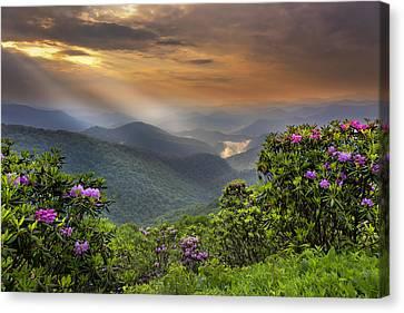 Pinnacle Sunset  Canvas Print